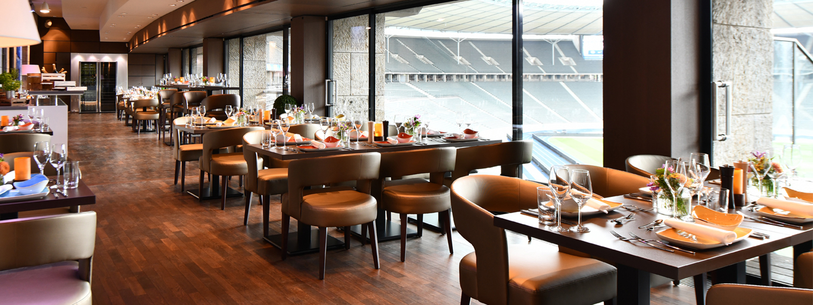 Grill Lounge bei Hertha BSC